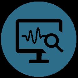Server overvågning ikon fra Microdata