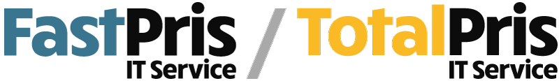Illustration viser Microdata servicekoncept Standard FastPris og TotalPris