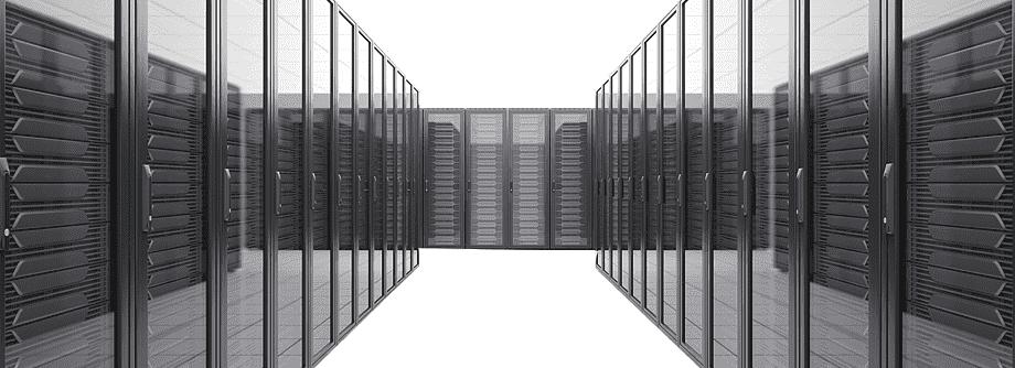 Billede af data center rack skabe